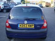 1.2 16v Renault Clio Extreme 2. 2003 reg,  45k Mileage. £2295 ONO