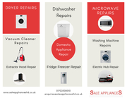 Domestic Appliance Repair and Sale