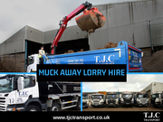 Muck Away Lorry Hire in Essex - TJC Transport