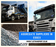 Aggregates supplier in Essex - TJC Transport