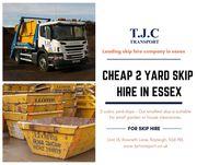 2 Yard Skip Hire in Essex
